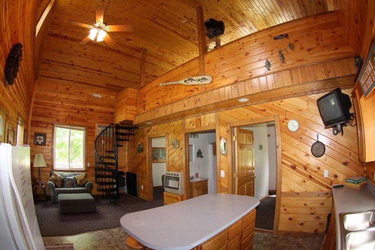Cabin 1 inside
